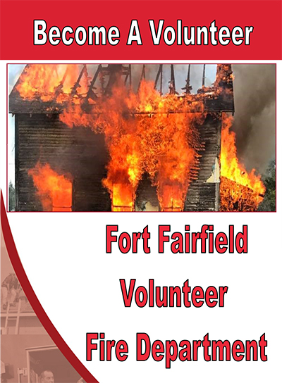 Become Volunteer Fire Fighter In Fort Fairfield Maine