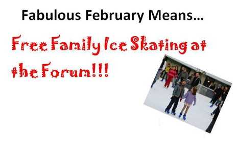 Fabulous February Means Public Skating