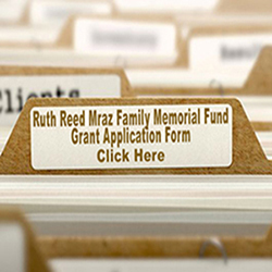 Ruth Reed Mraz Grant Application